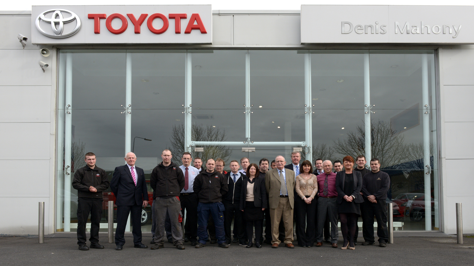 About Us. The Denis Mahony Motor ...
